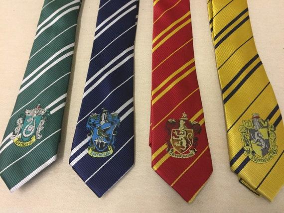 2019 real Pré-commander mode de luxe Harry Potter cravate - choisir une maison Tie - Gryffondor Serpentard  Serdaigle Poufsouffle - libre première classe