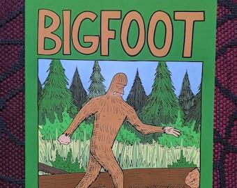 Bigfoot zine (Second Printing)