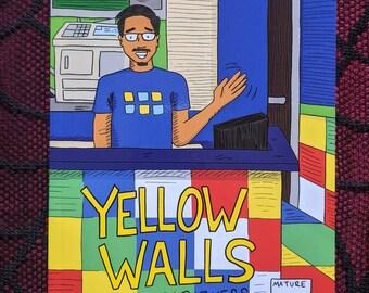 Yellow Walls zine (Second Printing)