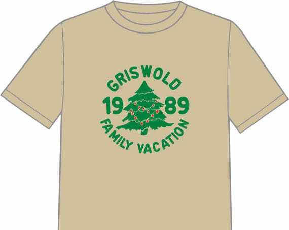 INSTANT DOWNLOAD Griswold Christmas Vacation T-Shirt Transfer Instant Download & Print