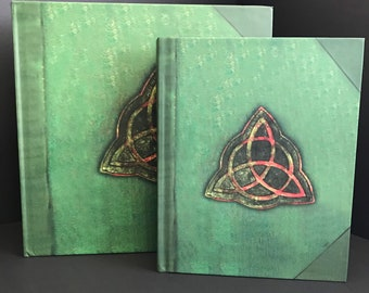 Charmed Book of Shadows 10th Anniversary Edition Commemorative Art-book in 2 sizes see video flip through on YouTube