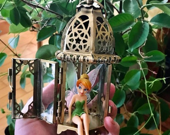 Tinkerbell Figurine with Lantern House