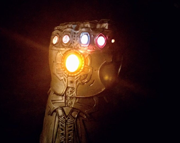 Featured listing image: Infinity Gauntlet Prop Replica with light & sound