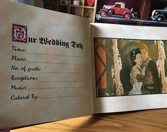 Wedding Guestbook - Once Upon a Time