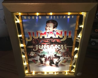 Jumanji Talking Mini Poster Marquee