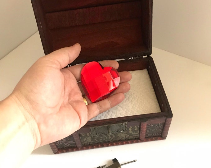 The Good Witch Heart of Middleton Heart and Locking Box prop replica a symbol of Love
