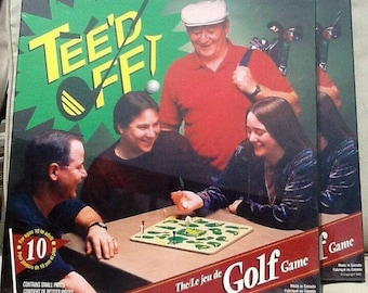 Vintage Golf Board Game Tee'd Off! New in sealed box, Great Gift!