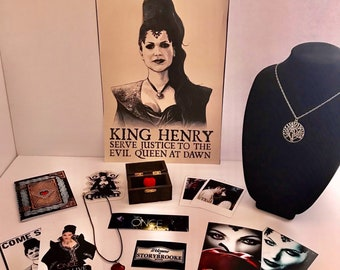 Once Upon A Time Evil Regal Super Fan Pack