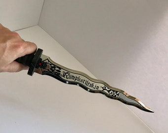 The Dark One's Dagger Full Size Metal Prop Replica Rumplestiltskin
