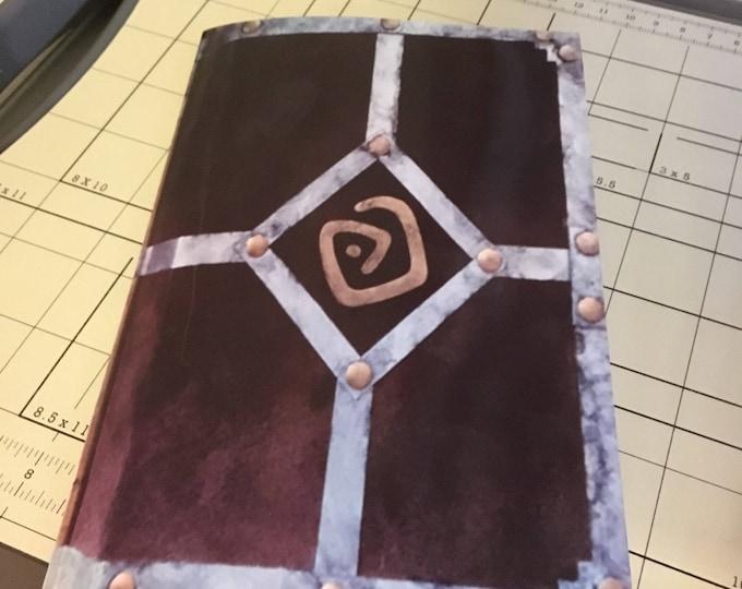 INSTANT DOWNLOAD Atlantis the Shepherd's Journal DIY Notebook Printable Download