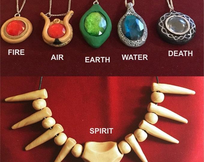 The Six Tribes of Zambesi Cosplay Totem Replicas