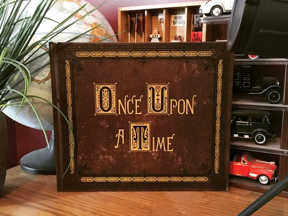 Once Upon A Time Henrys Book Of Classic Fairytales Etsy