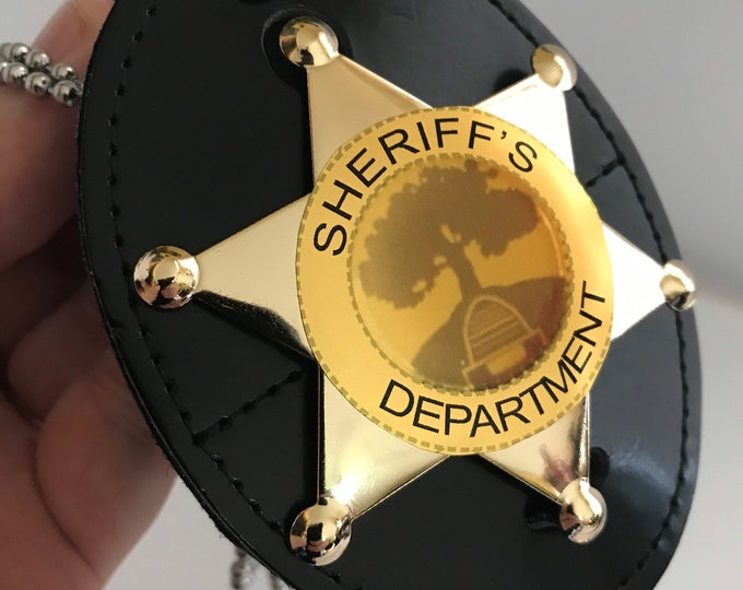 Once Upon A Time Storybrooke Maine Sheriff's Department Pin