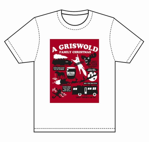 INSTANT DOWNLOAD Griswold Family Christmas T-shirt Transfer Instant Download & Print