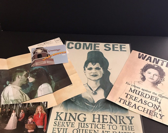 Once Upon A Time Super Fan Poster Package