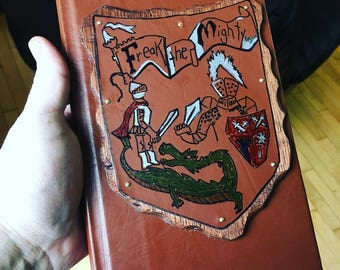 Freak the Mighty Book Replica - Leatherbound Prop Replica inspired by The Mighty movie