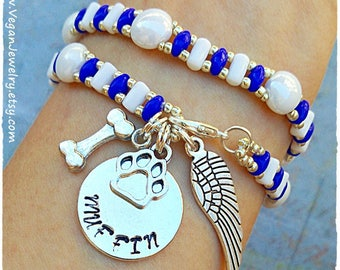 Pet Memorial Jewelry, Pet Loss Gift, In Memory of Dog, Cat memorial, Personalized Dog Remembrance, Pet gift, Pet remembrance, Dog Memorial
