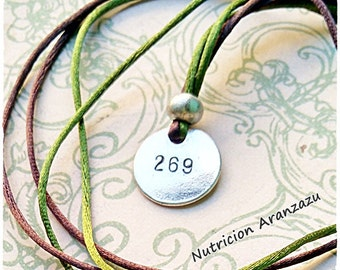 269 Life 269 Calf Awareness Vegan Necklace, 269 life, 269 Pendant, 269 Necklace, Vegan Cow, Animal Rights, 269 jewelry, Animal liberation