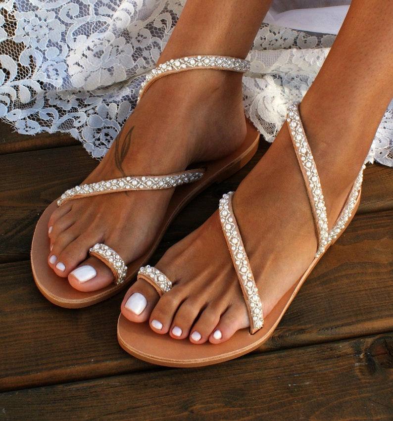 8fd2f72f1 Wedding sandals  bridal sandals  leather sandals  handmade