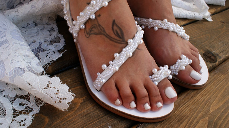 e4ad3a02b033 Wedding sandals  bridal shoes  leather sandals  handmade