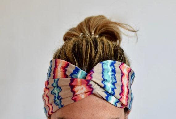 Colorful headbands for women yoga turban headband wide  9b930da3656