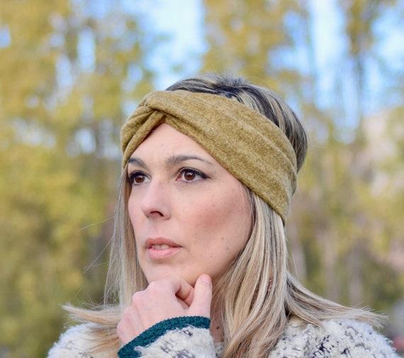 Ochre winter headbands for women head wrap sweater knit fabric  c8779f67290