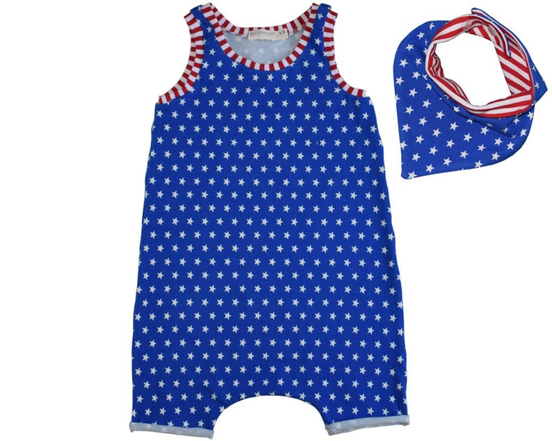 1225c2a62268 Baby Boy 4th of July Outfit Red White and Blue 4th of July