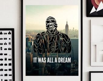 Notorious BIG Biggie Smalls Poster