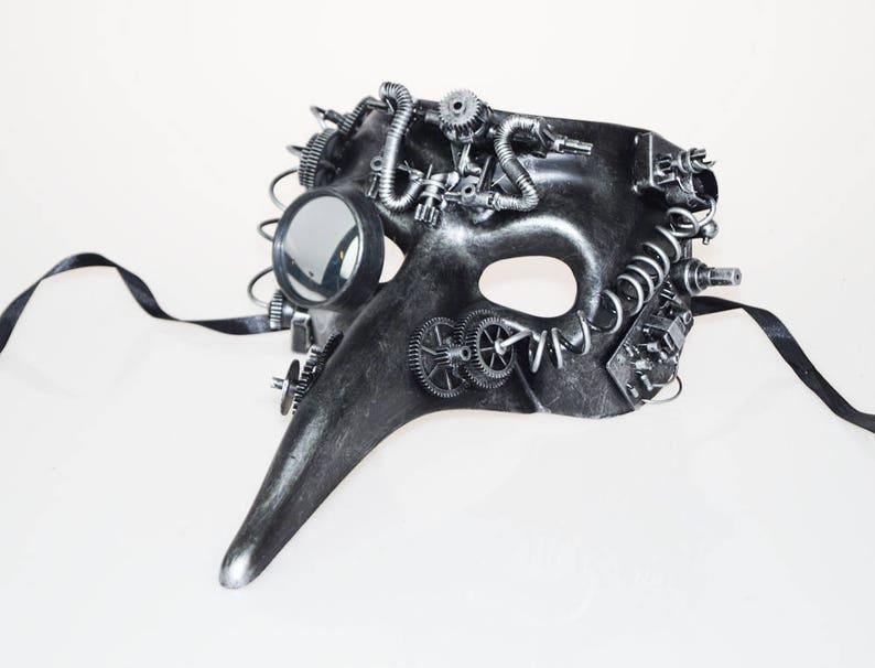 Steampunk Bird Mask