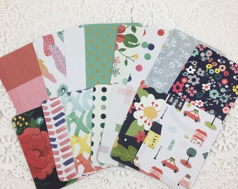 3x4 Rounded Corner Project Life Cards, Journal Cards, Scrapbook Cards, Journaling Cards, Planner Cards, Travelers Notebook Cards 114