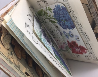 Junk Journal, Smash Book, Art Journal, Travel Journal, Scrapbook, Journal,  Glue Book, JJ102