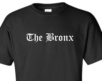THE BRONX YANKEE NEW YORK CITY NY HIP HOP RAP NYC BIG APPLE 718 URBAN SHIRT