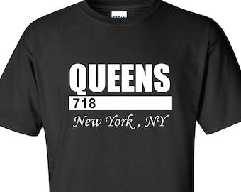 Queens 718 T-Shirt 08c57310818