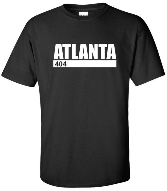 Atlanta Georgia 404 Area Code Short-Sleeve Unisex T-Shirt
