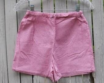 Children's Pink Polka-Dot Pajama Shorts