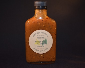 6.7 Oz ~ Three to Six Pack ~ Choose your Flavor ~ All Natural Hot Sauce