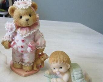 Weinlese-Baby-Figuren, junge krabbeln, geschätzt Teddy Figur Jilly, 156477 263
