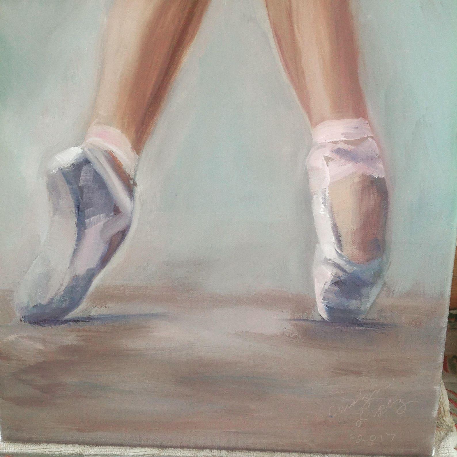 original art, oil painting