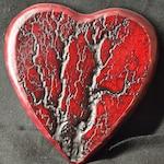 Poplar Heart with High Voltage Branches AKA lichtenberg figure