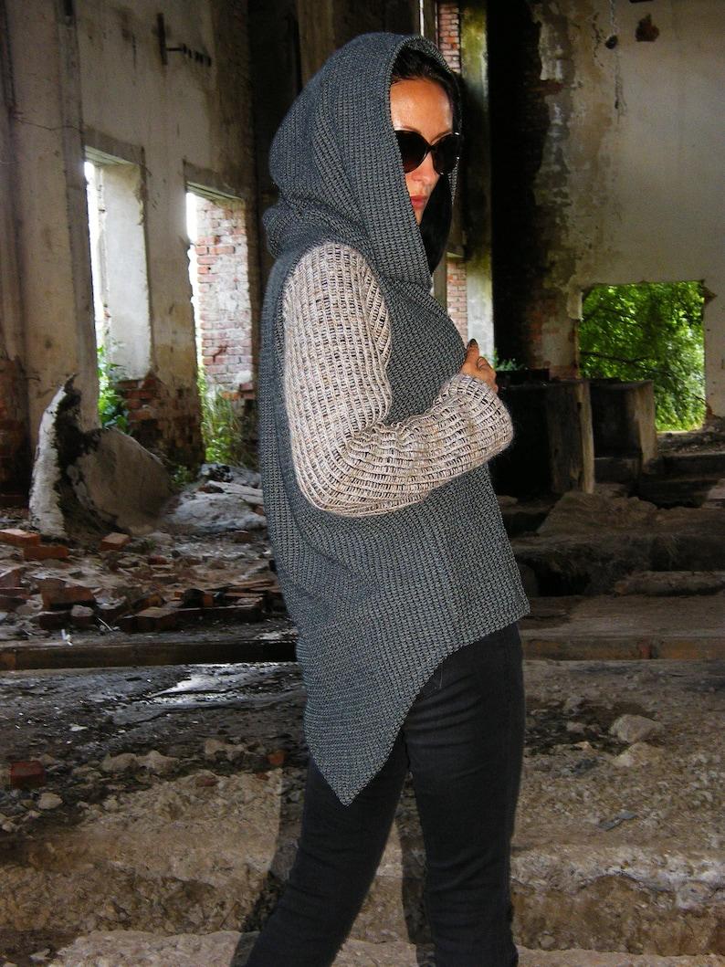 Burning Man Jacket Hooded Sweater Hooded Jacket Hooded vest