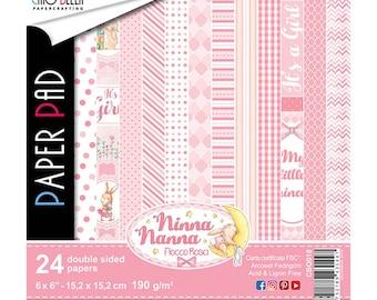 Echo Park Paper Bundle of Joy Girl cardstock Stickers 30,5/x 30,5/cm Element