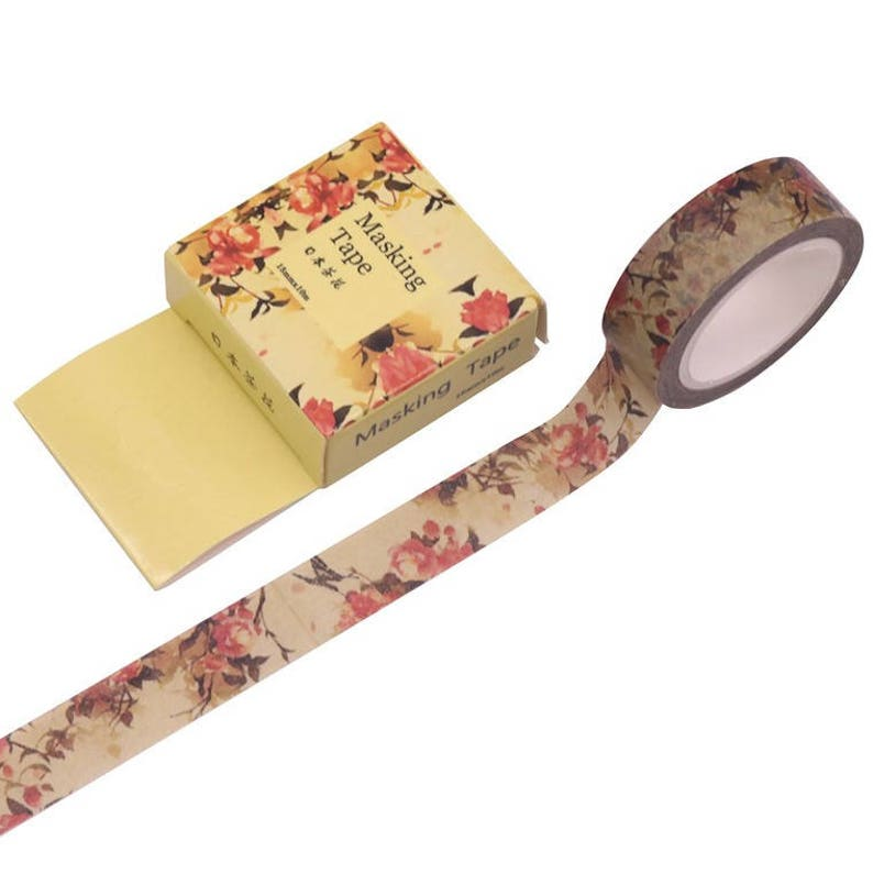 Tape All 4 Designs Arts & Crafts Road Markings Railway Track Themed Washi Tape Choice of Designs 15mm x 10 Metre Rolls