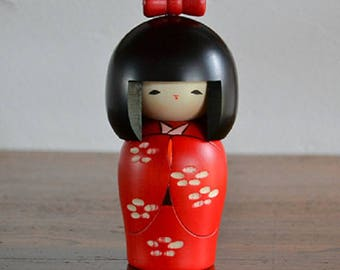 Japanese doll Kokeshi F/S