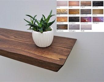 Holz Wandregal Etsy