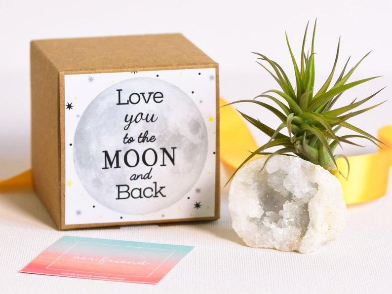 Love You To The Moon And Back Gift Valentines Day Girlfriend