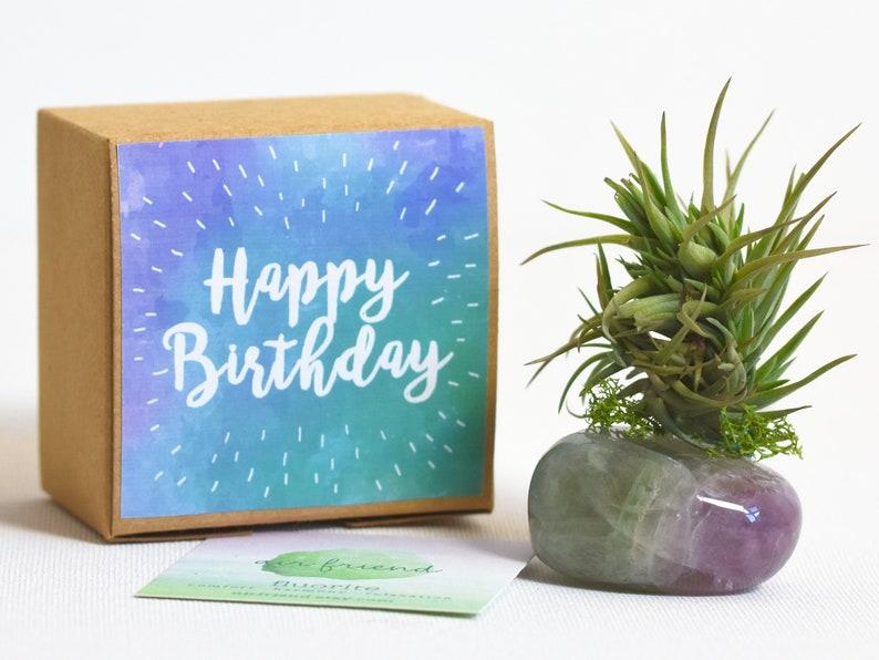 Happy Birthday Gift Best Friend Fluorite