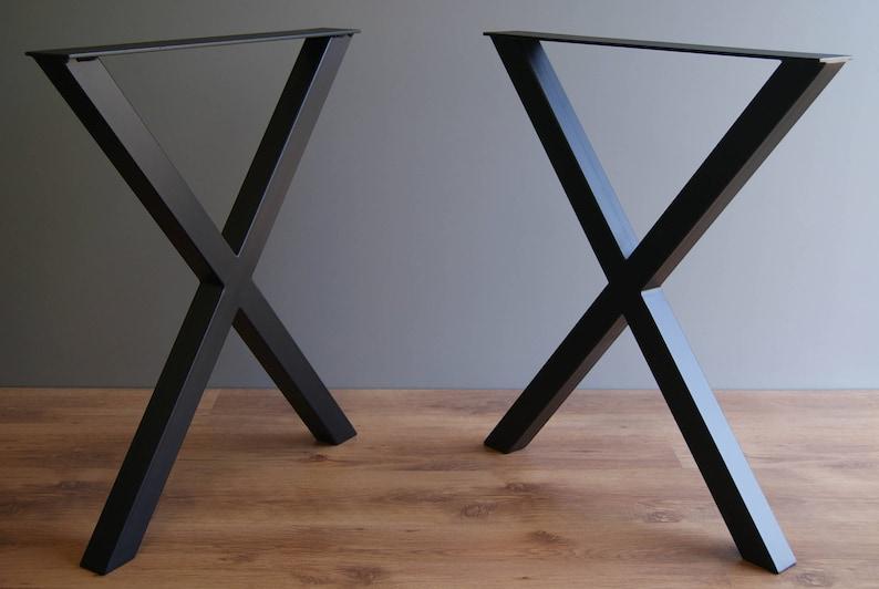 X gambe tavolo gambe del tavolo di cucina gambe per tavoli | Etsy