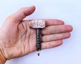Mini Hammer, EDC Hammer, Copper Hammer, Multi Tool, Copper EDC, Keychain, Copper Keychain, EDC, Keychain