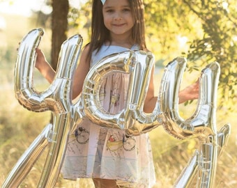 Yay ballon - décor de ballon parti Yay Cursive ballon - ballon Yay Script - fiançailles - mariage ballon décor - décor de douche nuptiale - Bach