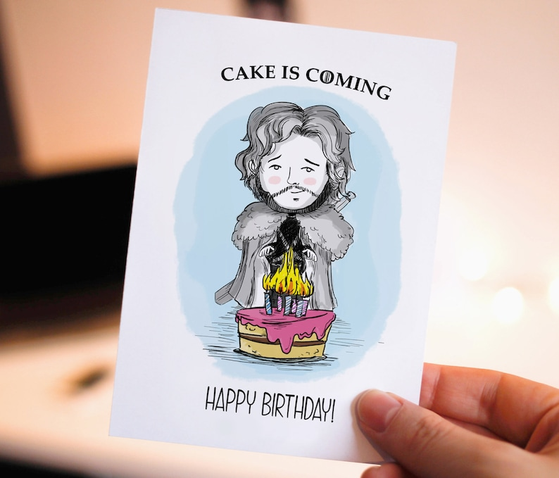 Funny Happy Birthday Printable Card Game Of